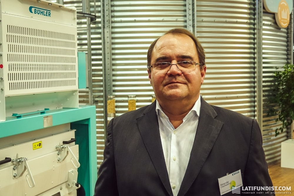 Александр Очеретный, директор департамента «Зерновая логистика» компании «Бюлер АГ»