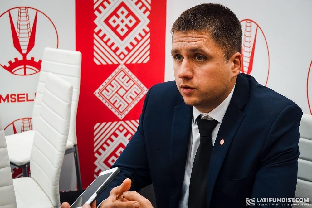 Василий Лукьяненко, директор филиала компании «Гомсельмаш» в Чехии