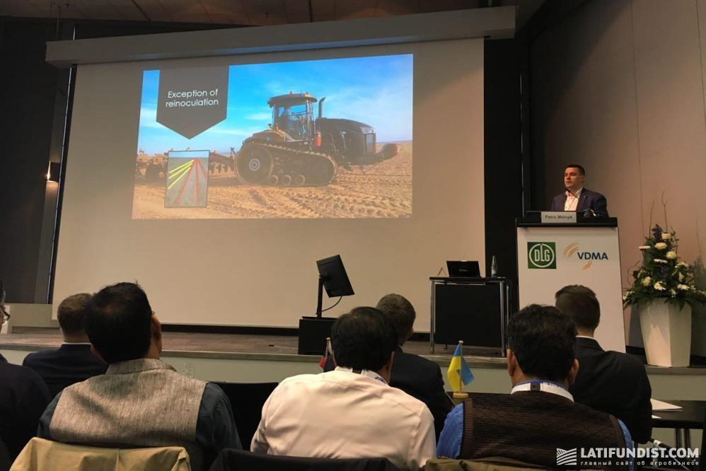 Петр Мельник на конференции «Украина, Россия, Китай — потенциал для крупного агробизнеса»