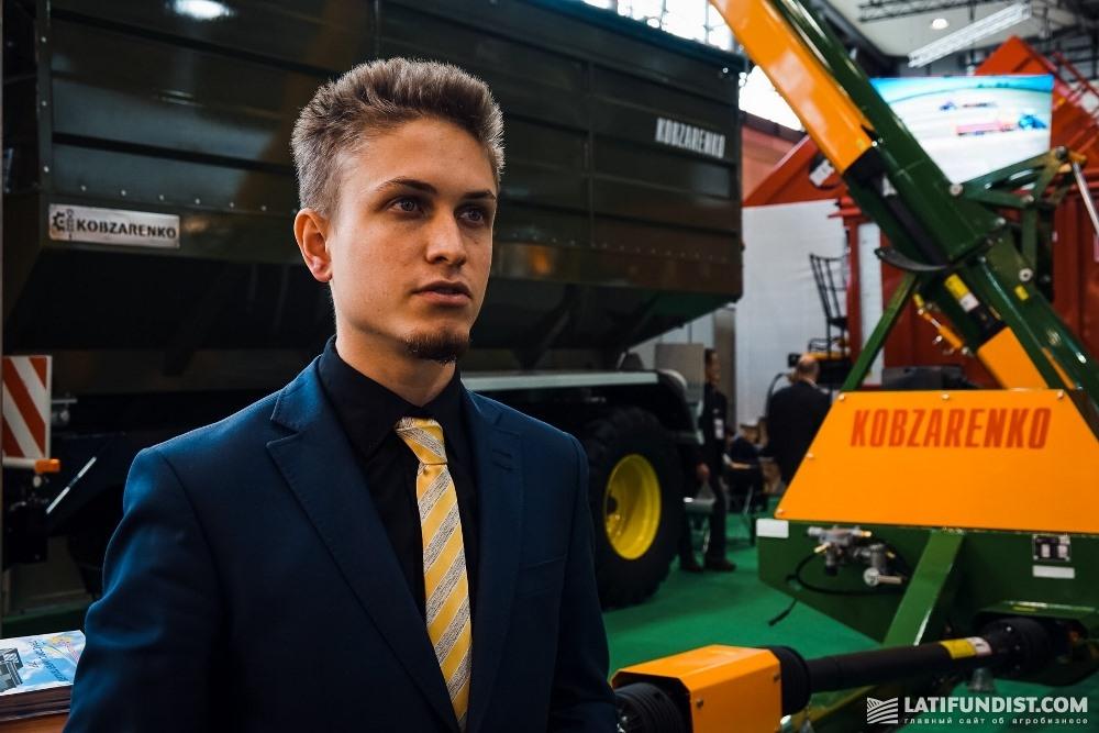 Дмитрий Кобзаренко, директор по производству «Завода Кобзаренко»