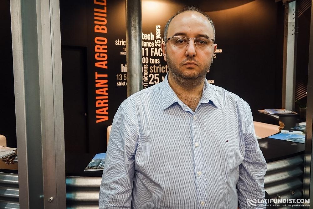 Амер Шуфани, заместитель генерального директора «Вариант Агро Строй»