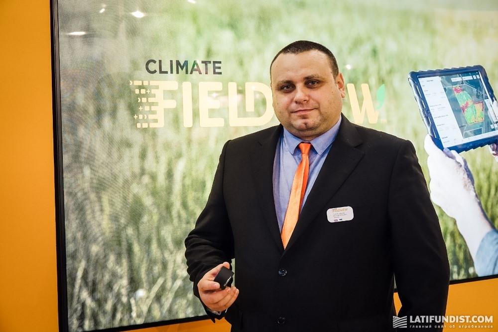 Юрий Коваленко, руководитель отдела технологического сопровождения ключевых клиентов «Монсанто Украина»