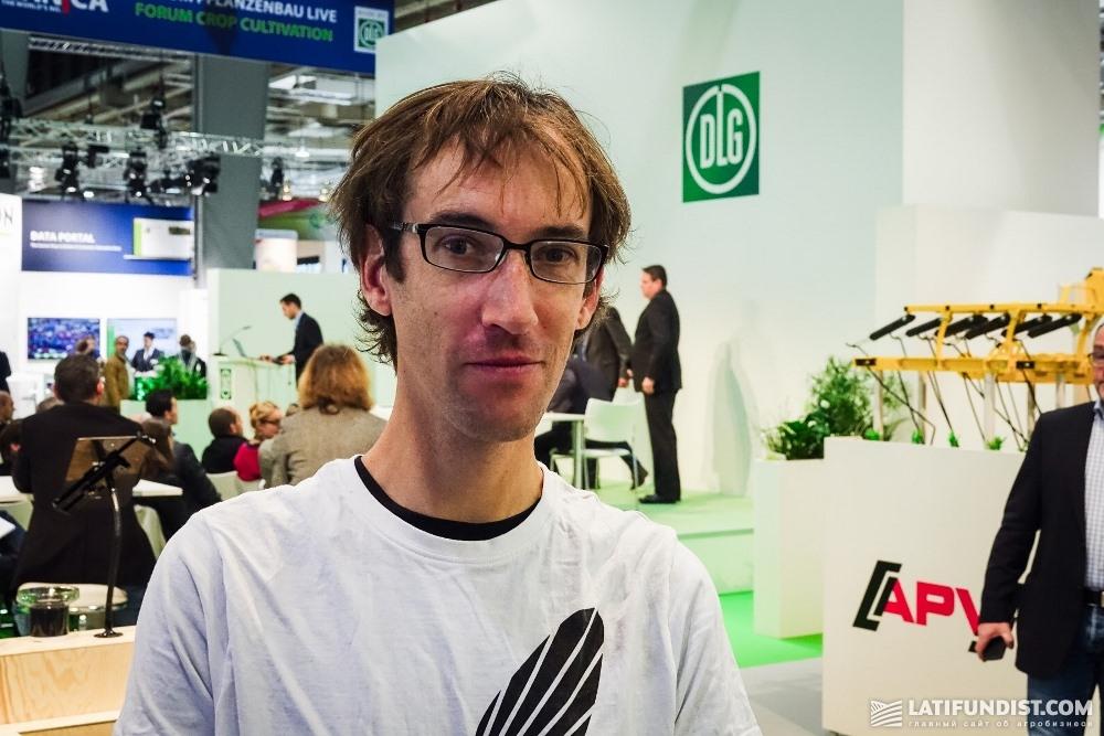 Джорд Прангсма, руководитель технического отдела FaunaPhotonics