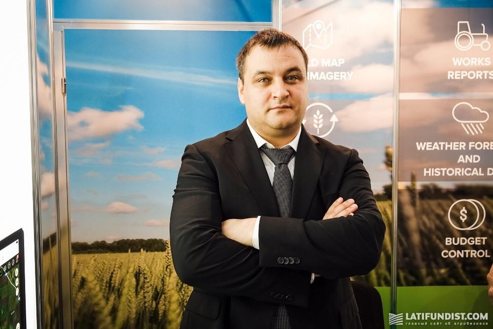 Антон Хаймовский, генеральный директор компании ExactFarming