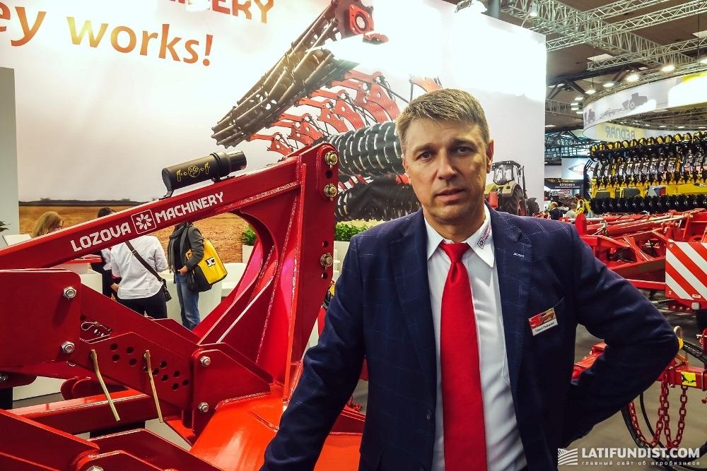 Эдуард Чудопалов, директор по экспорту компании «Лозовские машины»