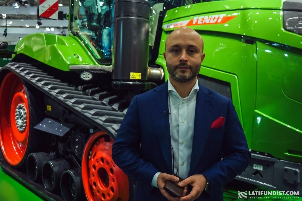 Алексей Копылов, национальный менеджер по продажам торговых марок Fendt в Восточной Европе