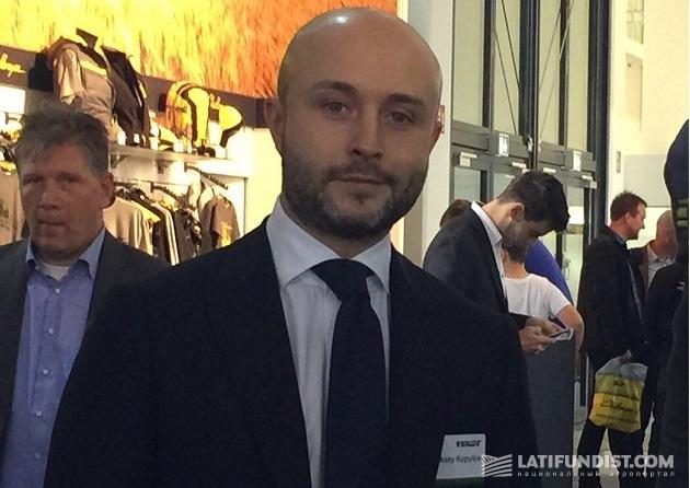 Менеджер по развитию бренда Fendt корпорации AGCO Алексей Копылов