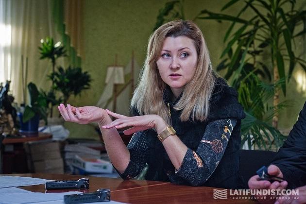 Татьяна Ляшенко, директор предприятия «Видродження»