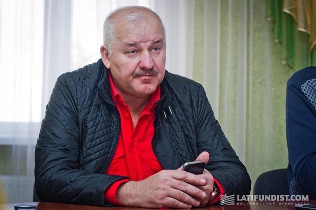 Юрий Ляшенко, генеральный директор предприятия «Видродження»