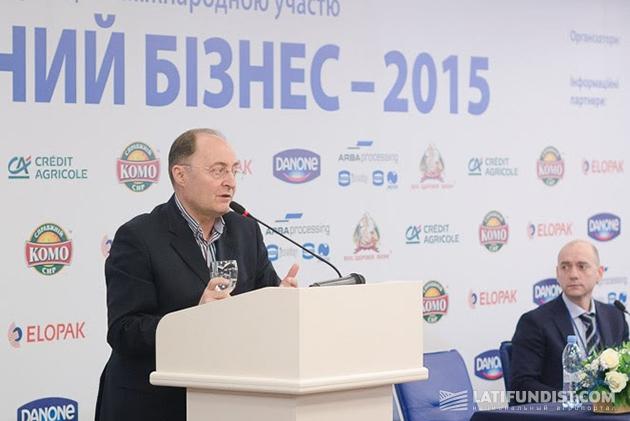 Председатель Совета директоров Союза молочных предприятий Украины Вадим Чагаровский