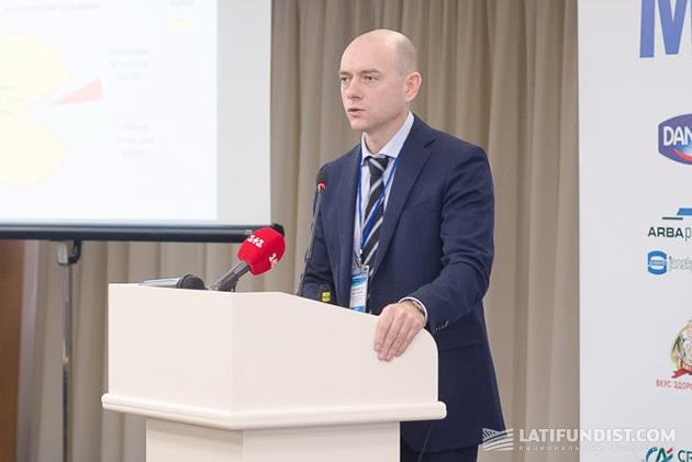 Директор департамента продовольствия Минагропрода Дмитрий Шульмейстер