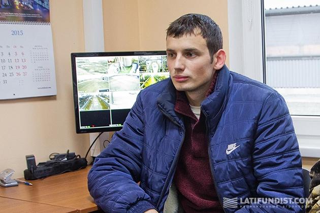 Заместитель руководителя по производству, доению и лечению на агропредприятии «Витчизна» Александр Лысенко