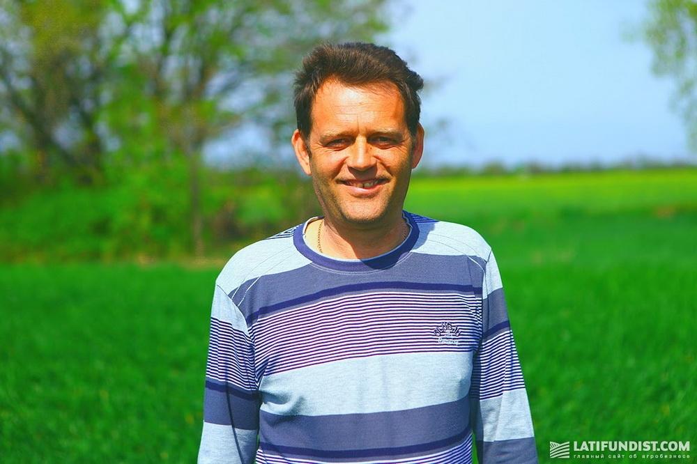Александр Пономарев, агроном предприятия «Житница Украины»
