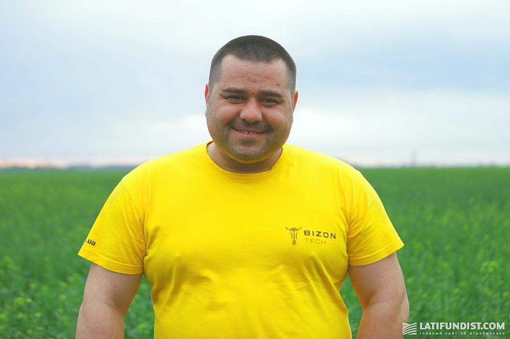 Роман Гуменный, менеджер Днепропетровского регионального подразделения «Бизон-Тех»