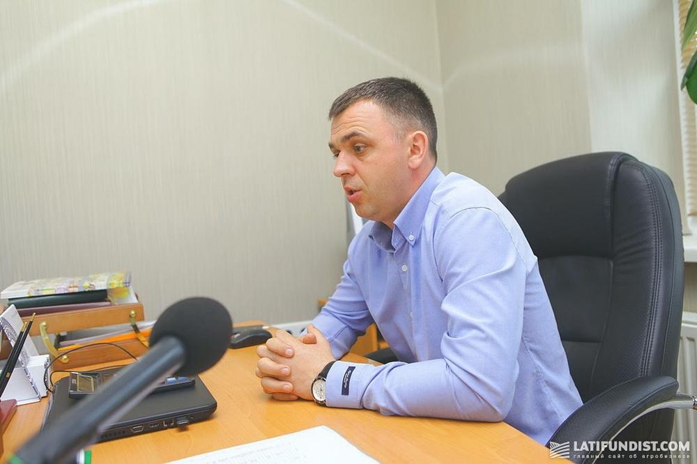 Михаил Свитлык, директор хозяйства «Иванково»