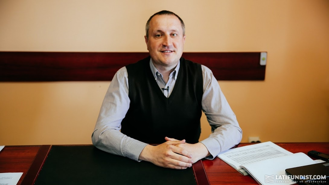 Александр Головач, заместитель директора по производству предприятия «Веселиновка»