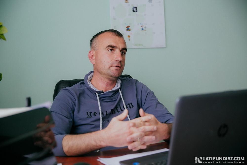 Виктор Дорошенко, заместитель директора по производству «Агро-С»