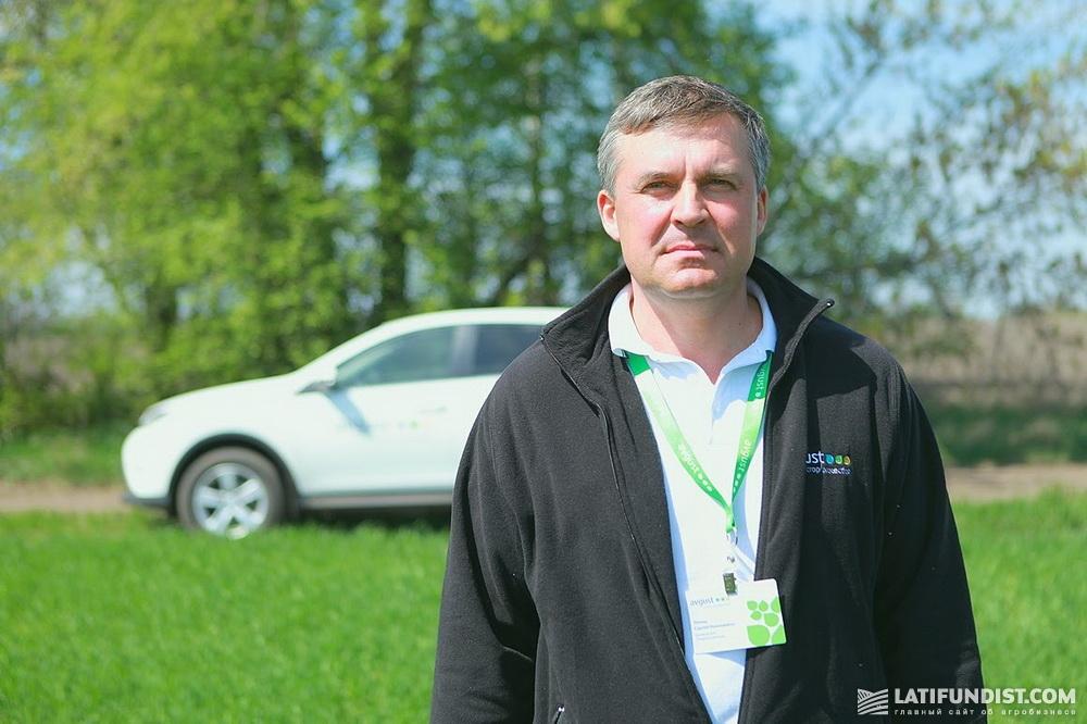 Сергей Лямец, менеджер по работе с ключевыми клиентами компании «Август-Украина»