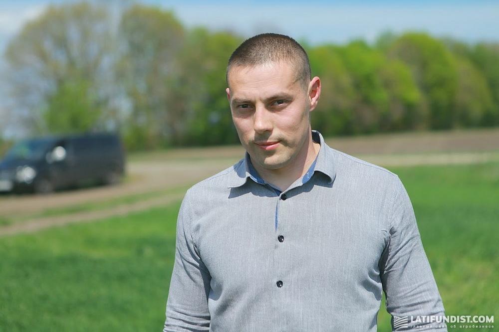 Алексей Неретин, главный агроном компании «Матюши»