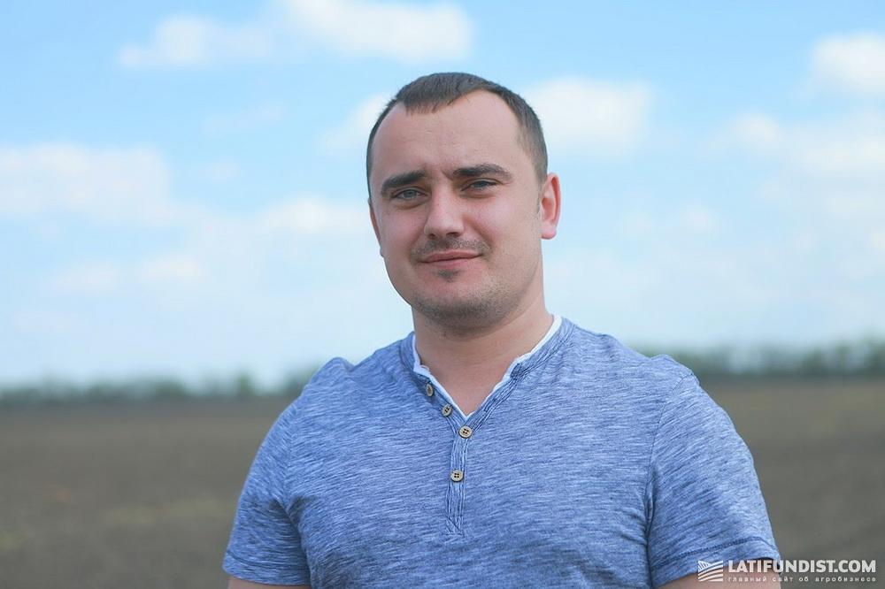 Александр Бацура, директор агрофирмы «Матюши»