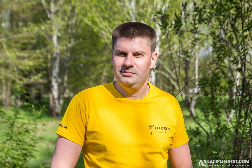Полищук Владимир, торговый представитель «Бизон-Тех» в Киевской и Житомирской областях