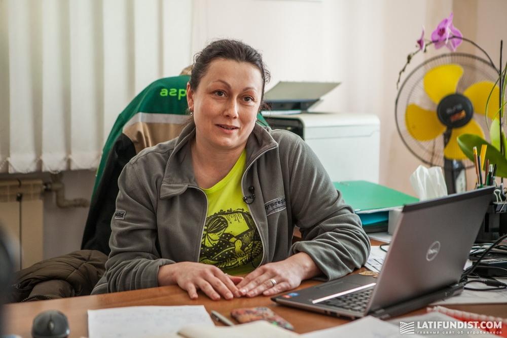 Екатерина Мороз, директор Черниговского подразделения компании «Агро-Регион»