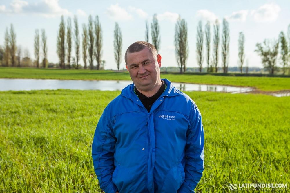 Григорий Даниленко, региональный представитель «Август-Украина» в Черниговской области