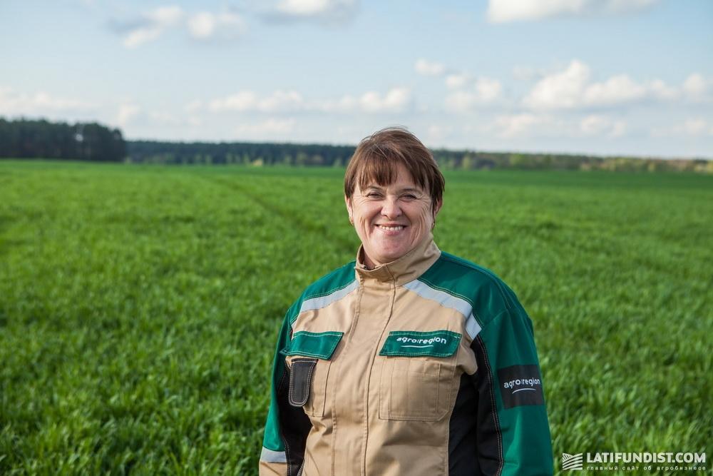Светлана Ремез, главный агроном Черниговского подразделения компании «Агро-Регион»