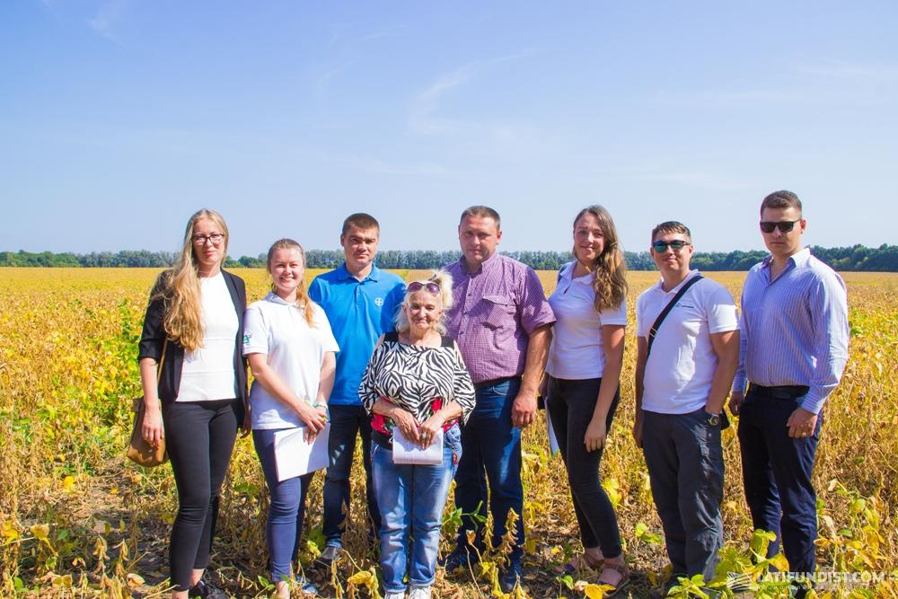 Команда АгроЭкспедиторов в гостях у сельхозпредприятия «Интерагро Сквыра»