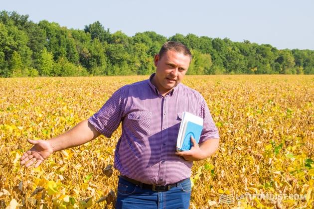 Виталий Телычко, главный агроном сельхозпредприятия «Интерагро Сквыра»