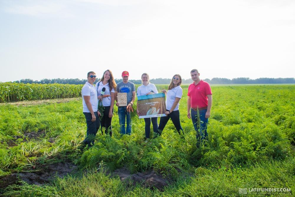 Команда АгроЭкспедиторов в гостях у компании «Агробизнес»