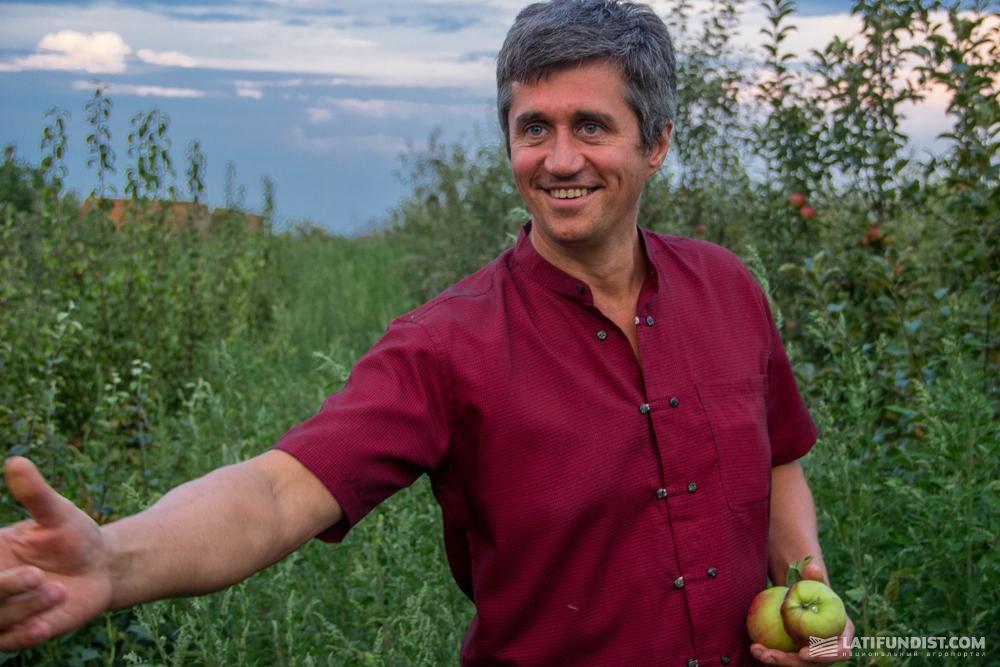 Алексей Языков, директор агрокомпании «Жива Нива»