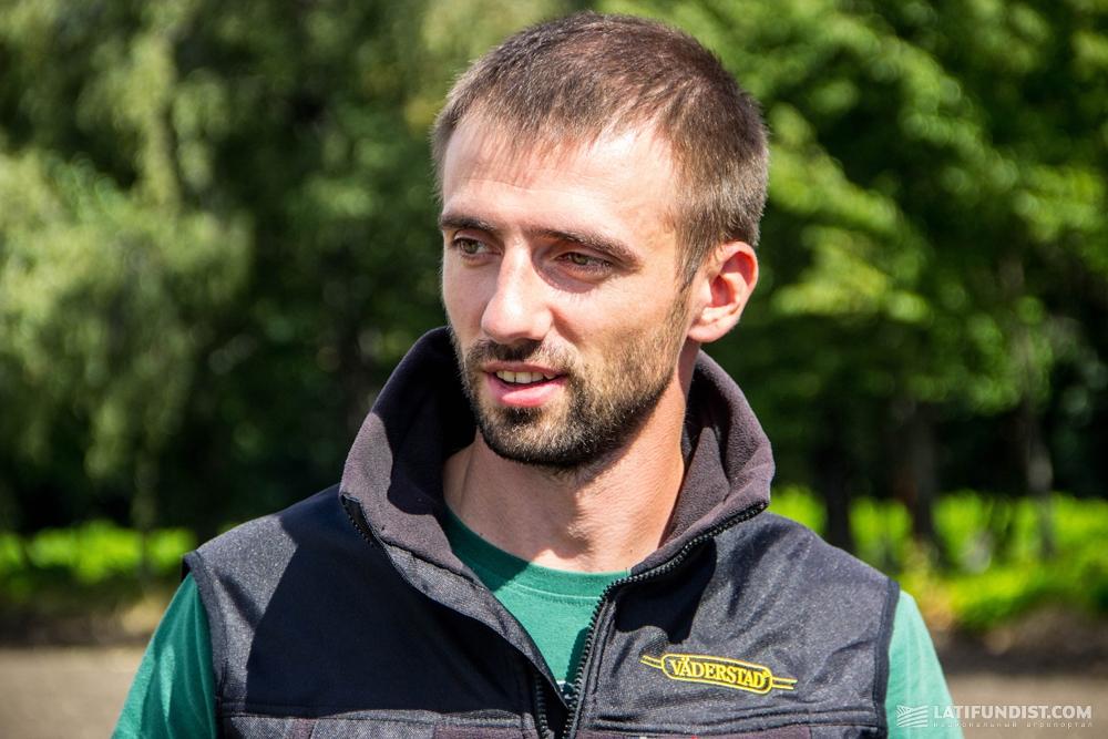 Дмитрий Очеретный, директор по продажам Väderstad