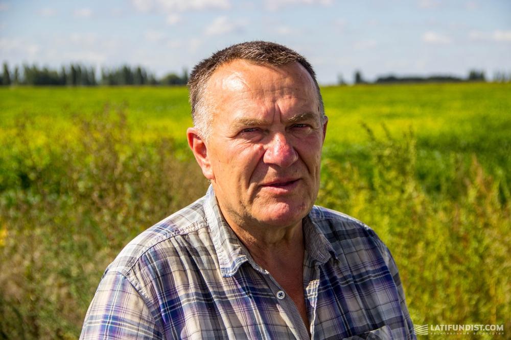 Леонид Янковский, директор фермерского хозяйства «Лан»
