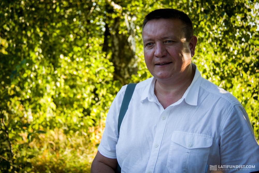 Анатолий Бойко, региональный представитель Bayer CropScience в Полтавской области