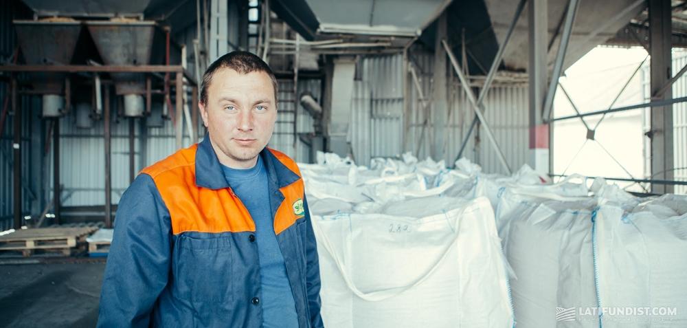 Артем Шамало, технолог по доработке семенного материала