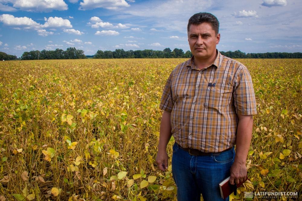 Сергей Середа, главный агроном «Арники»