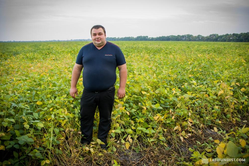 Сергей Трембач, агроном хозяйства «Гранит Агро»