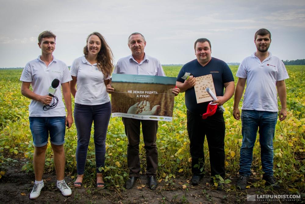 АгроЭкспедиторы с Виталием Кабачком, директором «Гранит Агро», и Сергеем Трембачем
