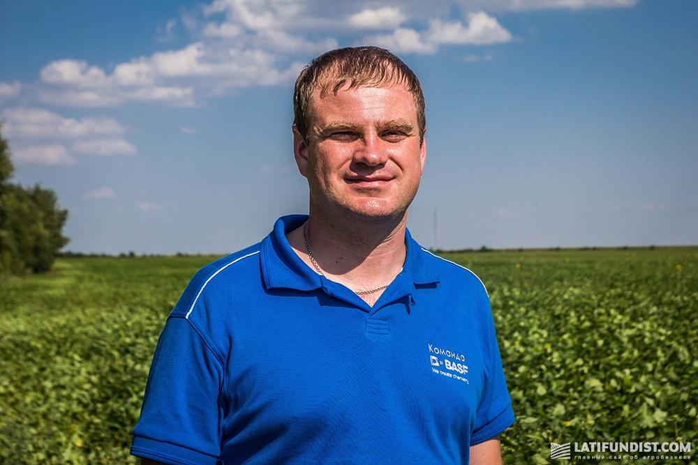 Евгений Качура, менеджер по препаратам для обработки семян и биопродуктам BASF