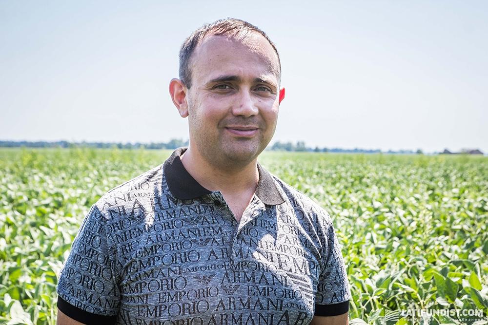Владимир Топалов, заместитель директора фермерского хозяйства «ТВК»