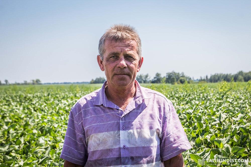 Виталий Вакулик, главный агроном предприятия ФХ «ТВК»