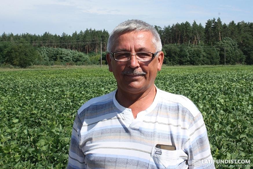 Сергей Кадурин, региональный агроном Глуховского кластера «РОСТОК-ХОЛДИНГ»