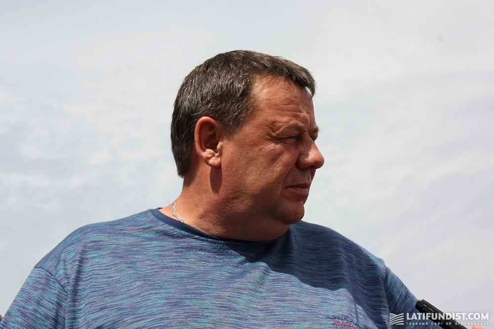 Юрий Лебедев, главный агроном компании «РОСТОК-ХОЛДИНГ»