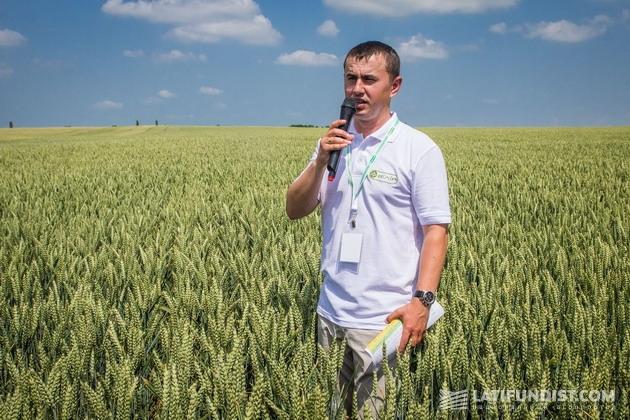 Ярослав Мазуренко, главный агроном «Волынь-Зерно-Продукт»