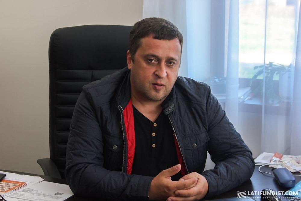 Игорь Романов, директор предприятия «Надия»