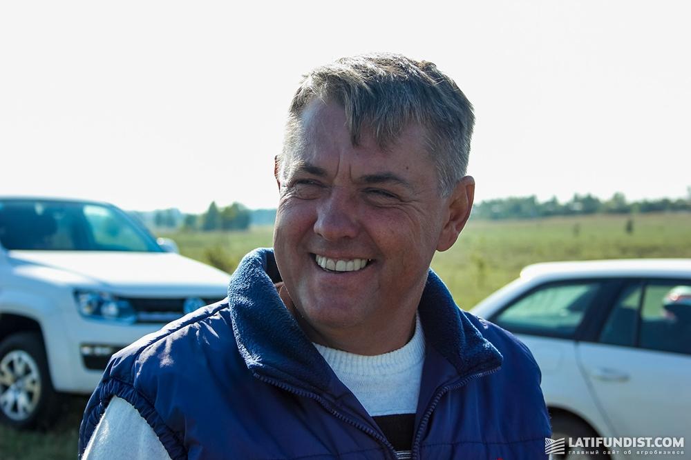 Виктор Петрашенко, главный агроном предприятия «Вега Агро»