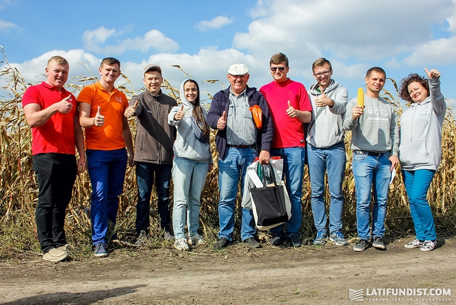 АгроЭкспедиторы в поле ФХ «Видродження»