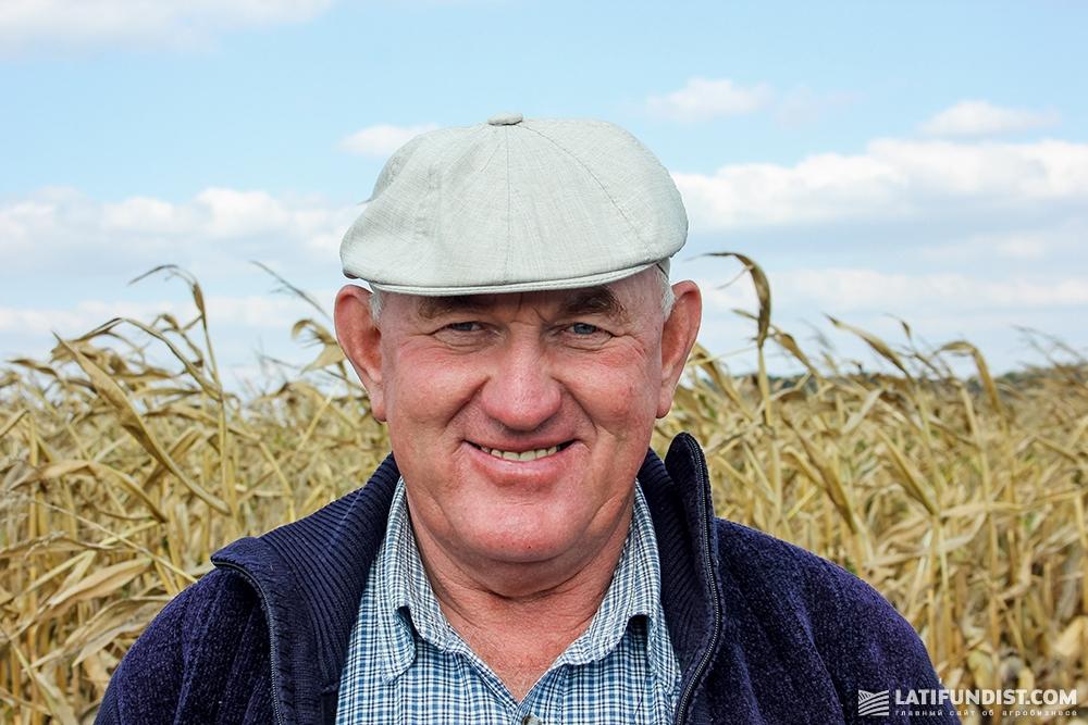 Василий Ткаченко, главный агроном предприятий «Видродження», «Ромашка» и «Воловодовка»