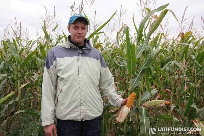 Владислав Кривченко, главный агроном хозяйства «Свитанок»